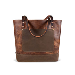 classic leather tote bags