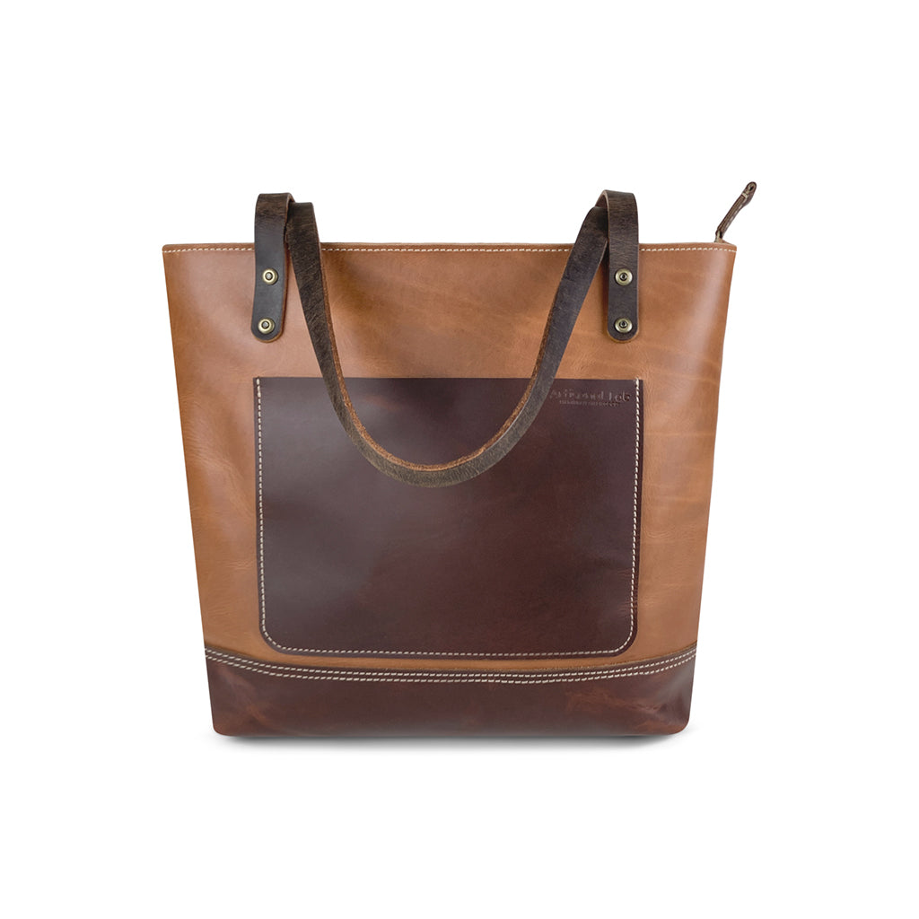Classic tote. ags with zipper