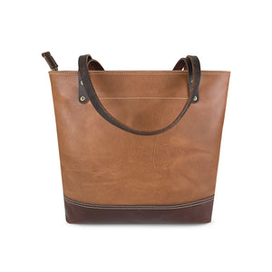 Two toned tote bags