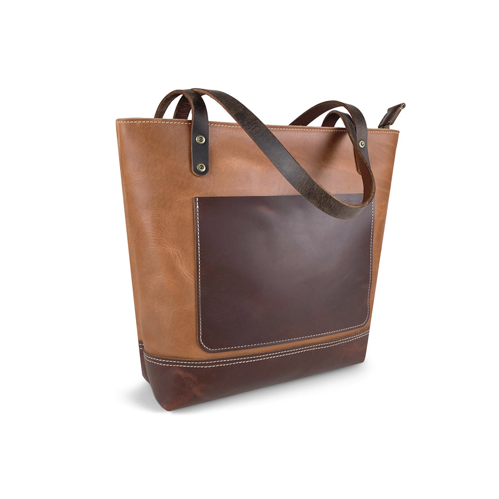 brown classic tote bags for work