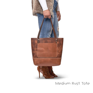 leather tote bags with inside pocket