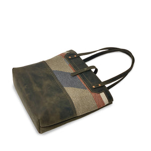 Leather tote bags and purses  brown
