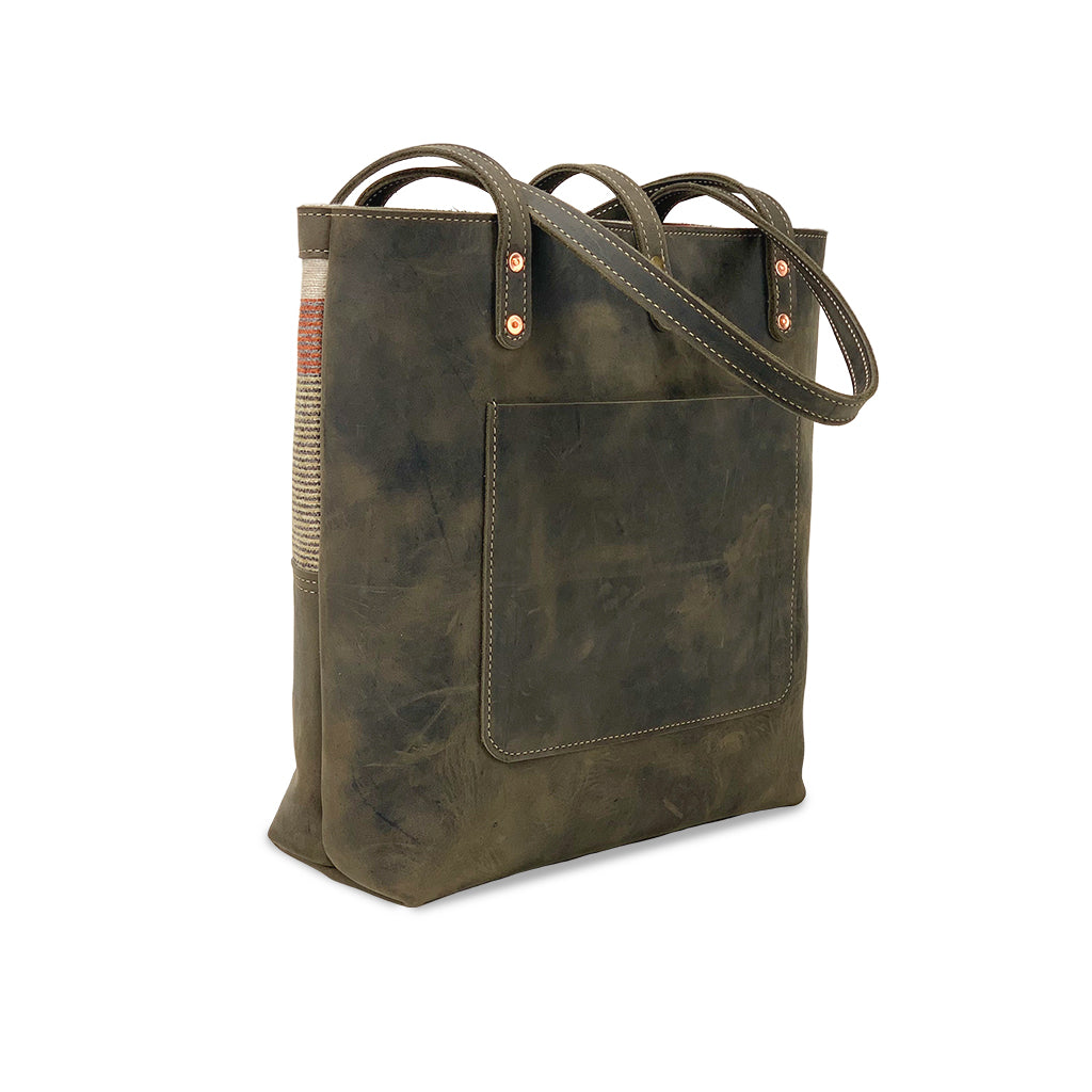 Leather tote bags for work