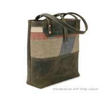 Load image into Gallery viewer, Genuine leather tote bags