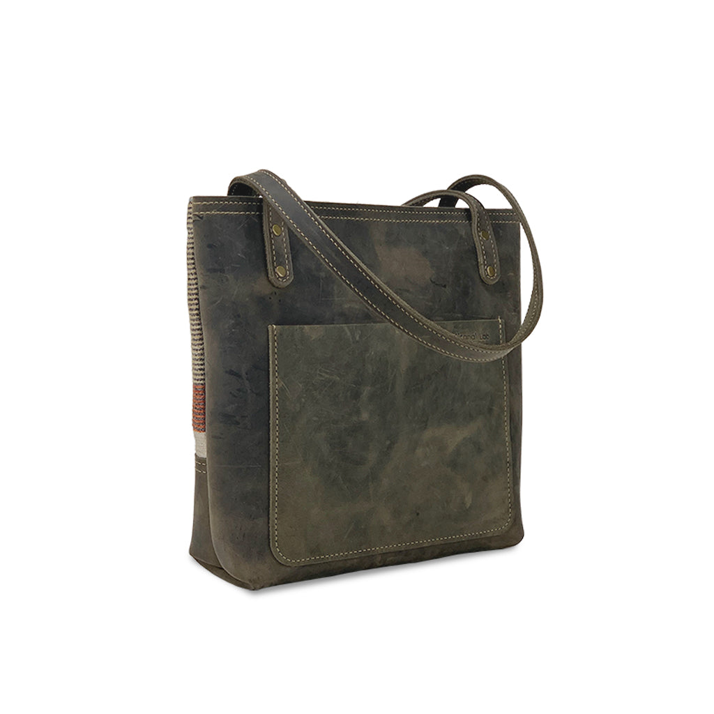 leather tote bags with inside pockets