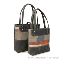 Load image into Gallery viewer, Genuine leather tote bags for work