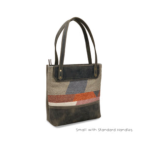 Leather tote bags brown