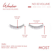 WONDER SILK FALSE EYELASHES NO.03