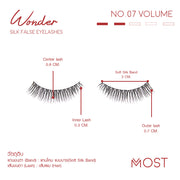 WONDER SILK FALSE EYELASHES NO.07