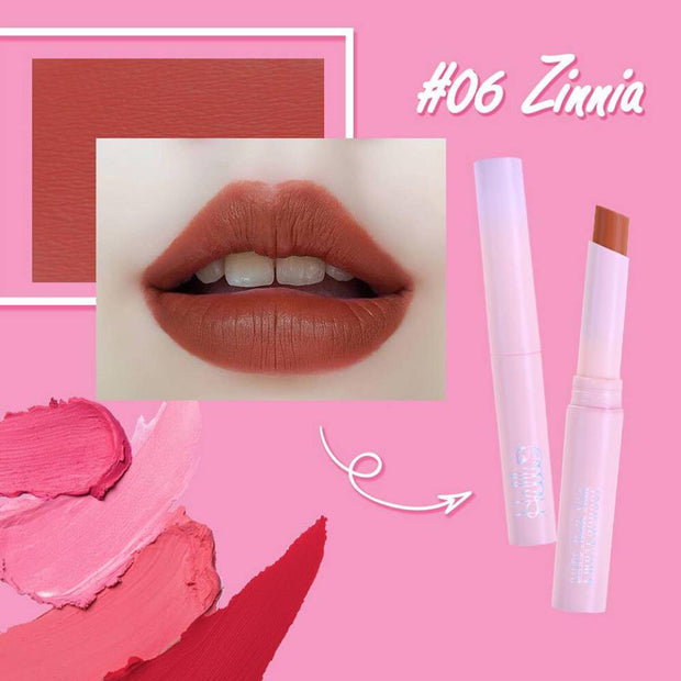 HELLO 24 HR MATTE STICK NO.6 (ZINNIA)