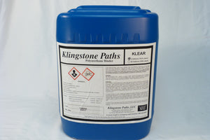 Klingstone Path Klear Patented - 1 and 5 Gallon Container - Gravel Binder