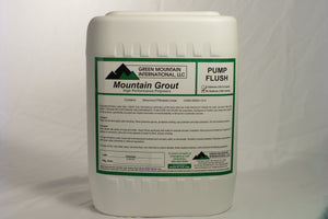 Mountain Grout - Pump Flush