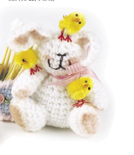 Baby Animals Crochet Pattern Mini Size Double Knit Or Worsted