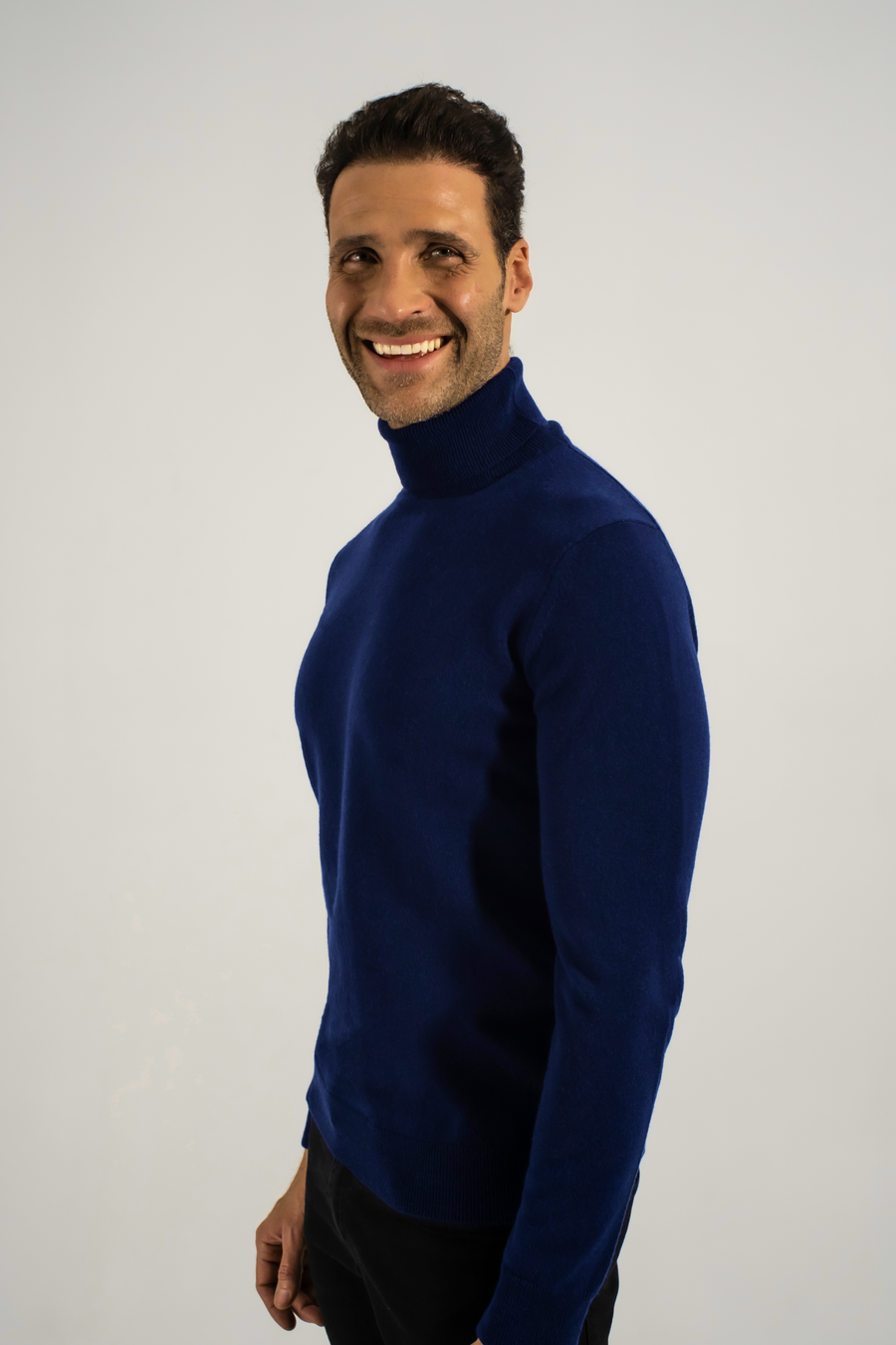Men Cashmere Turtleneck v0.9