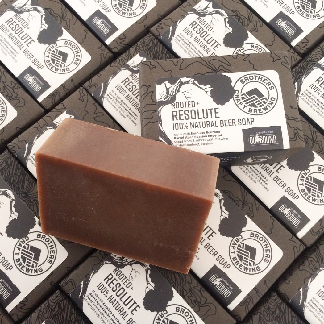 Rooted + Resolute Beer Soap