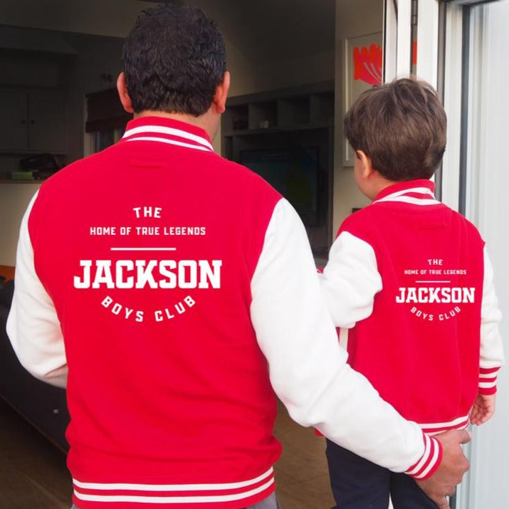 Parent and Kids Varsity Jacket