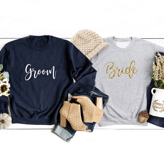 Bride or Groom Sweatshirt | Hen Party, Stag Do Party Bride and Groom Jumper