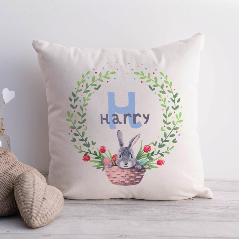Easter Decor Personalised Nursery Room Decor Cushion Cover