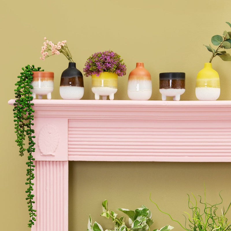 Mini Pink Planter for Home Decor