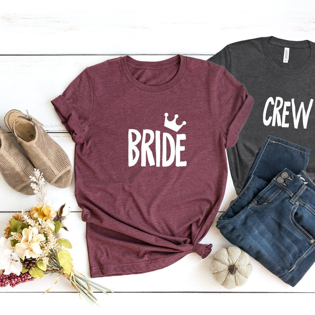 Bride and Crew H Party T-shirts