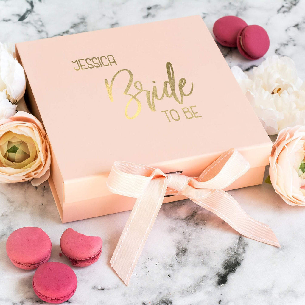Bride to Be Personalised Gift Box
