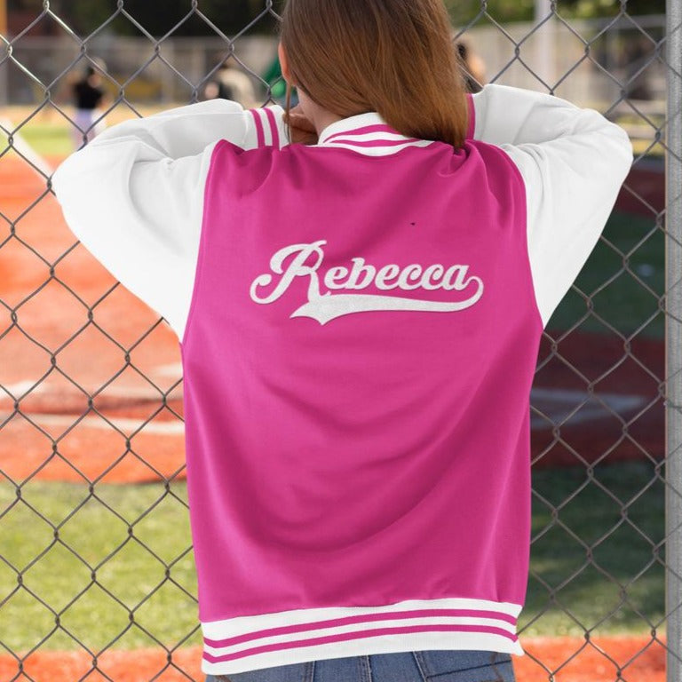 Personalised College Letterman Jacket