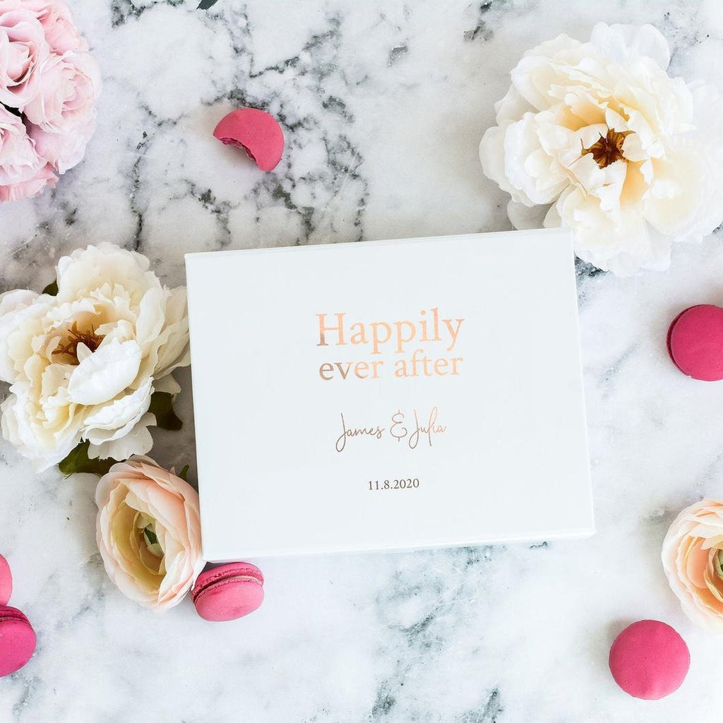 Happily Ever After Gift Box with Name