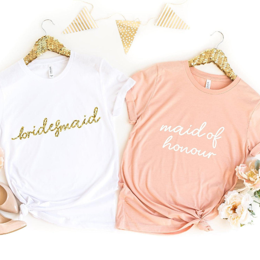 Hen Party T-Shirts with Wedding Role
