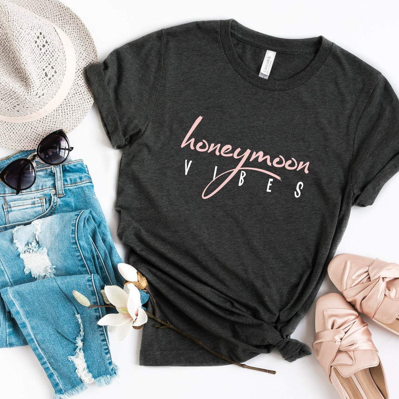 Honeymoon Vibes Shirt | Honeymoon Bride Shirts