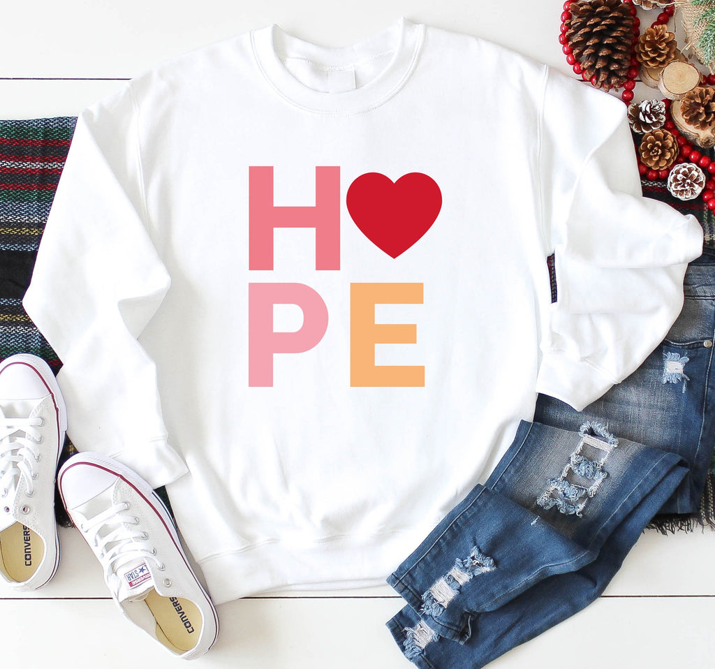 Hope Sweatshirt | Positivity Jumper
