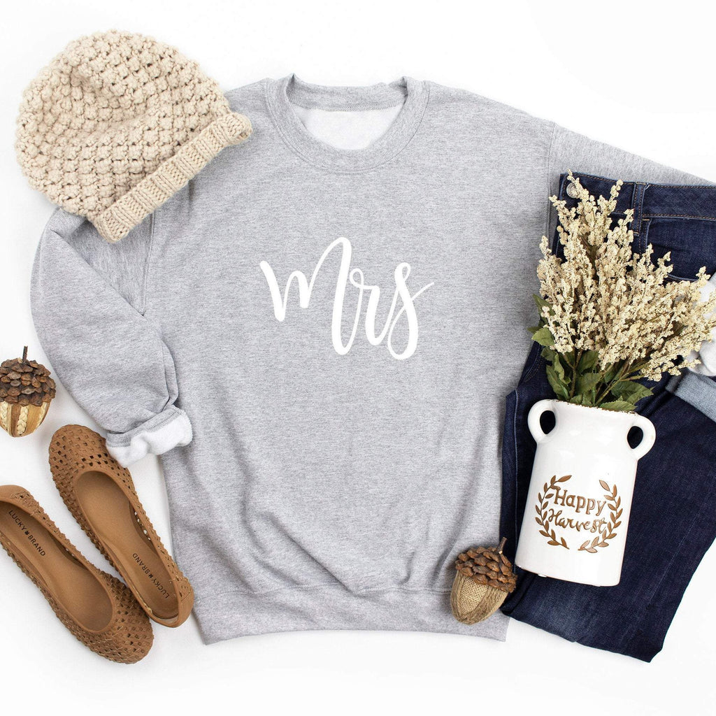 Mr Mrs Sweatshirt | Bride Groom Jumper