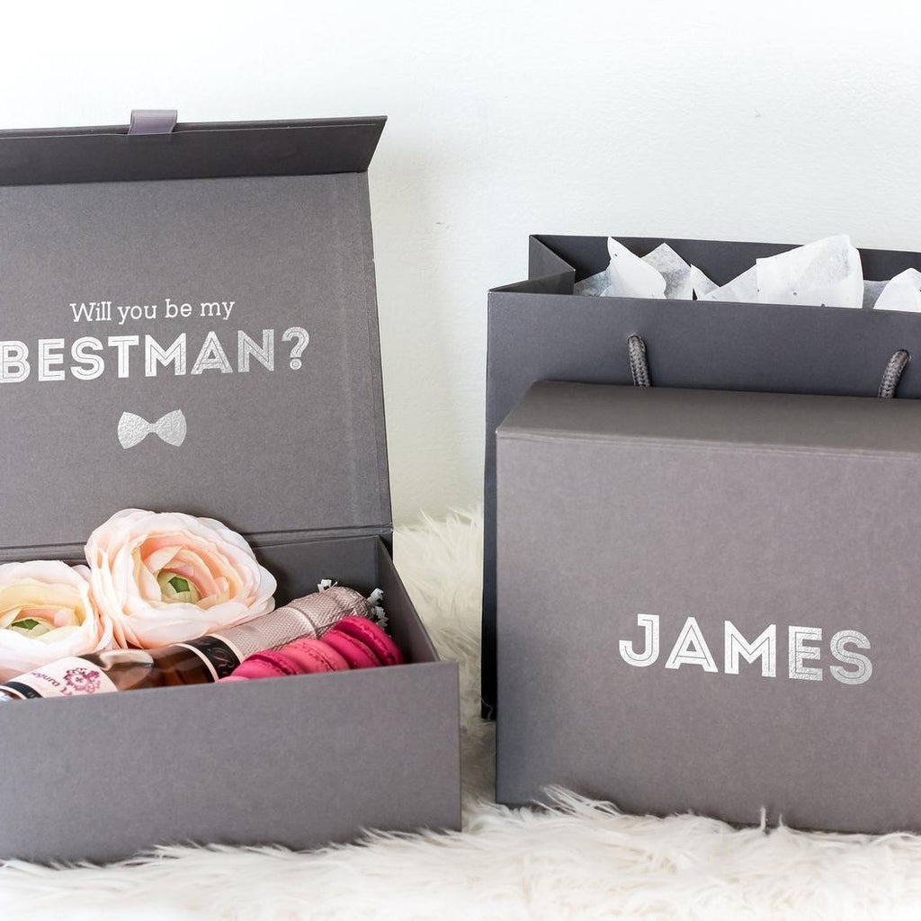 Personalised Bestman Proposal Gift Box | Groomsman Proposal Gift Box