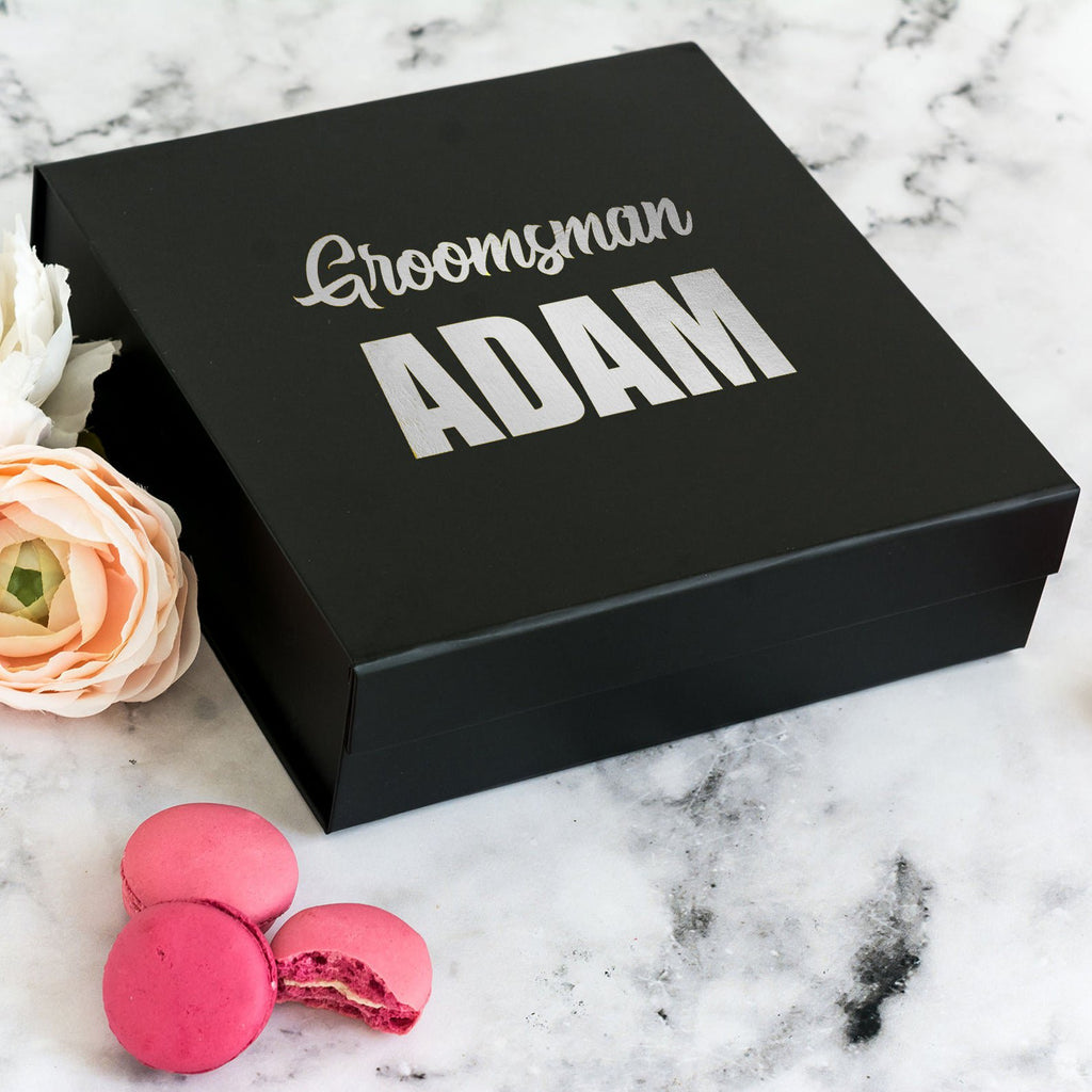 Personalised Bestman Proposal Gift Box