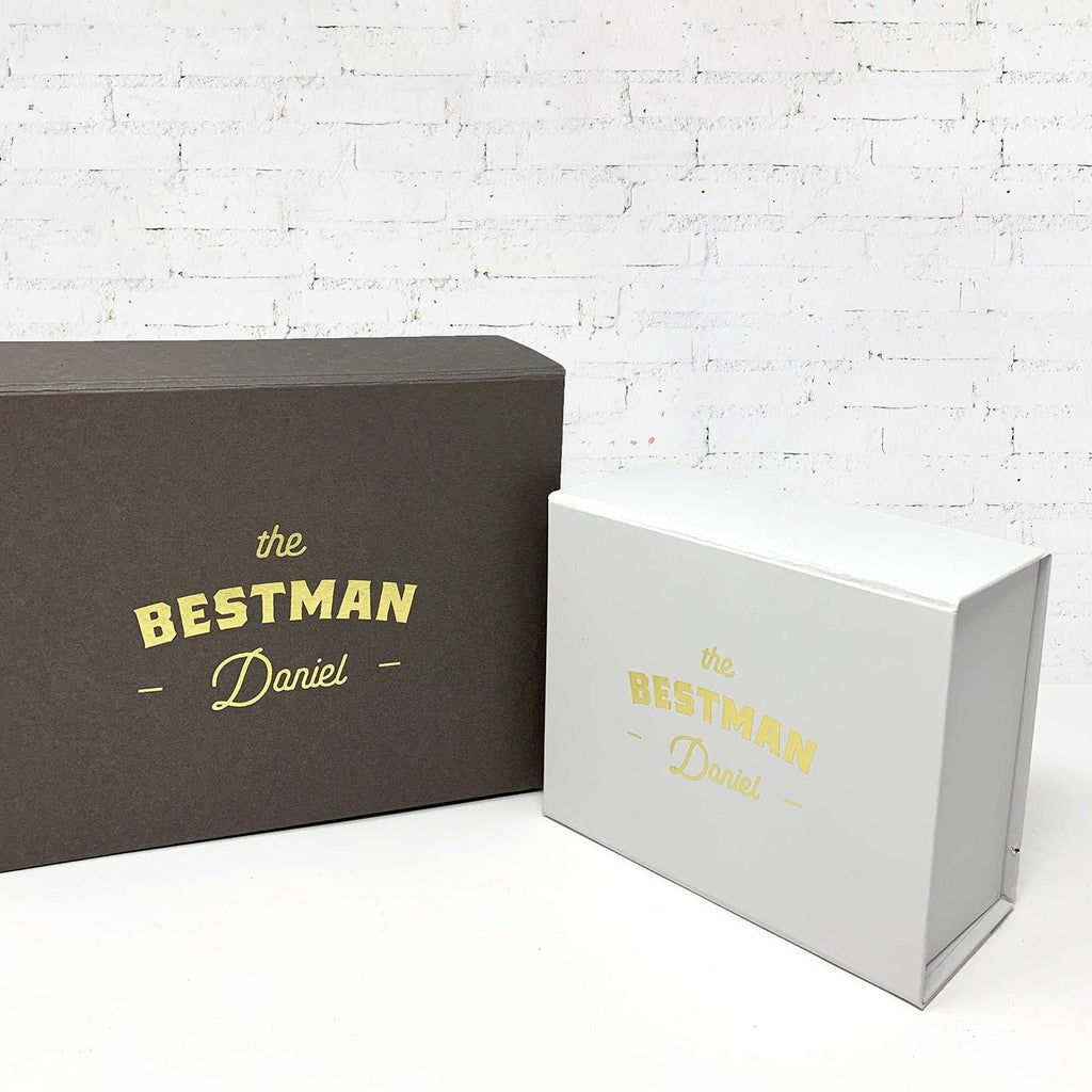 Personalised Bestman Proposal - Groomsman Gift Box