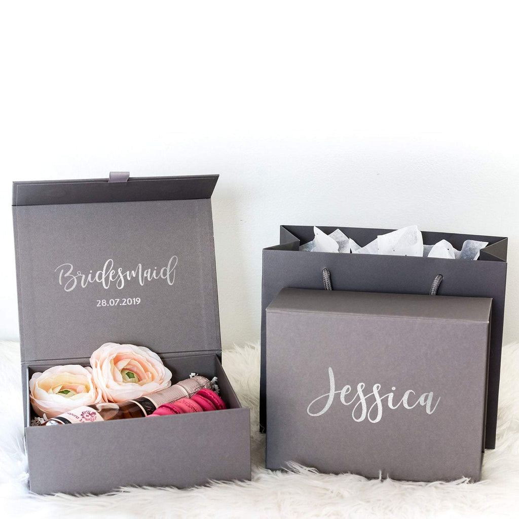 Personalised Bridesmaid Proposal Gift Box