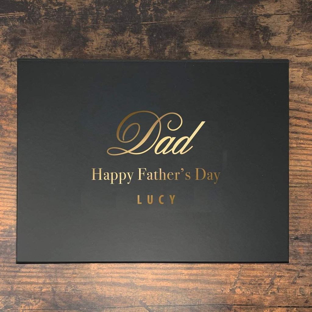 Personalised 'Dad' Father's Day Gift Box