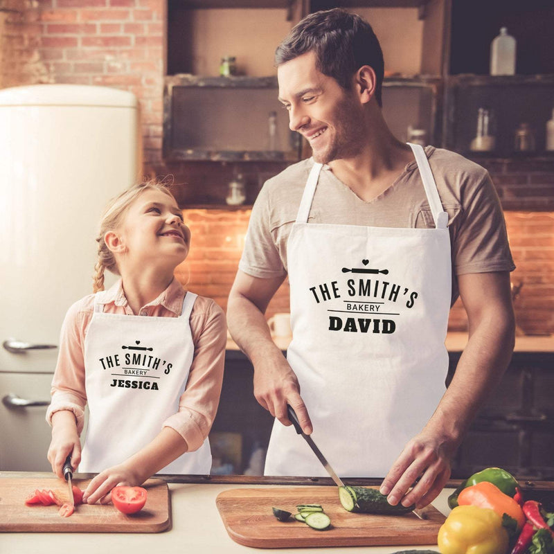 Personalised Family Apron | Family Baking