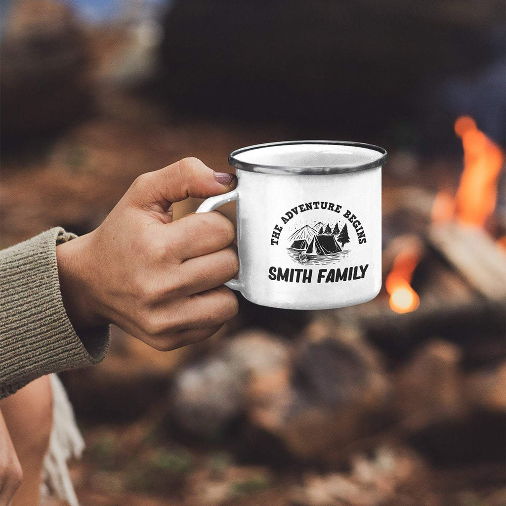 Personalised Family Camping Mug