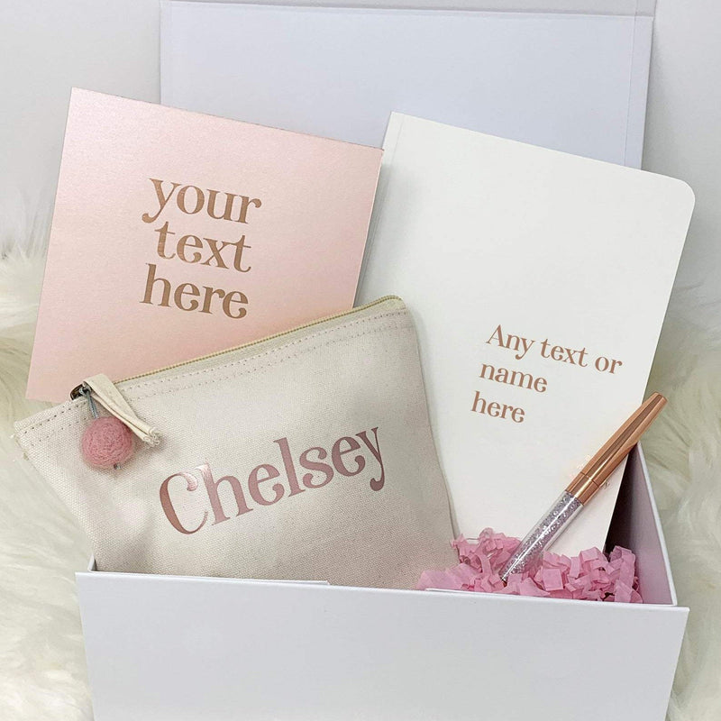 Personalised Gift Box Filled