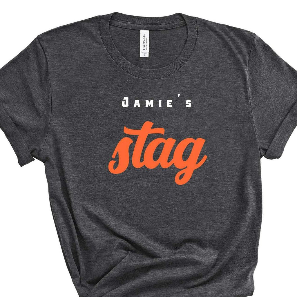Personalised Stag Do Party T-Shirt