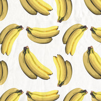 Banana Print Shower Curtain