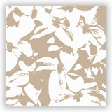 Kousa Dogwood in Monochromatic Beige Shower Curtain