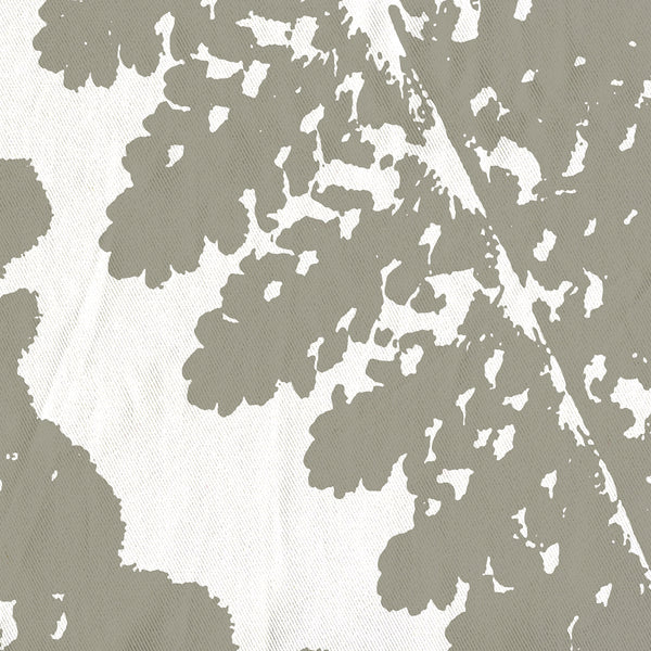 Gray Fern Art Print Spa Shower Curtain - Metro Shower Curtains