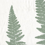 Green Woodland Ferns Spa Shower Curtain