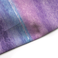 Purple Watercolor Stripes Shower Curtain