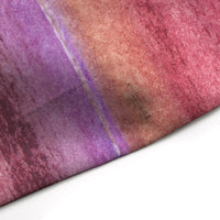 Maroon purple watercolor stripe shower curtain