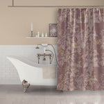 Rose gold shower curtain