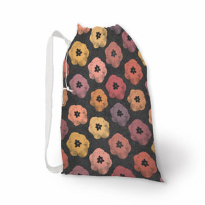 Tulip Print Laundry Bag & Oversized Reusable Wedding Gift Bag - Retro Art Print - Metro Shower Curtains