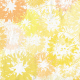 Sunny Yellow Lemon & Orange on White Citrus Print Shower Curtain