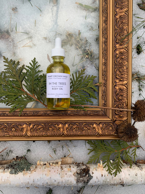 In The Trees Body Oil